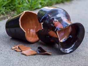 Haftpflicht Schadenfall zerbrochene Vase